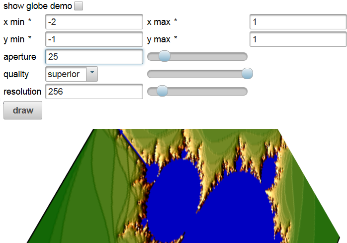 AngularFaces: Comboboxes, Checkboxes, Sliders and 3D-Graphics